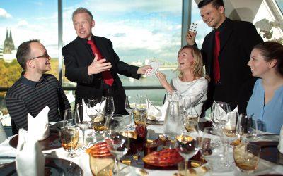 Trickverrat #056: Wie du mit Dinnershows erfolgreich bist